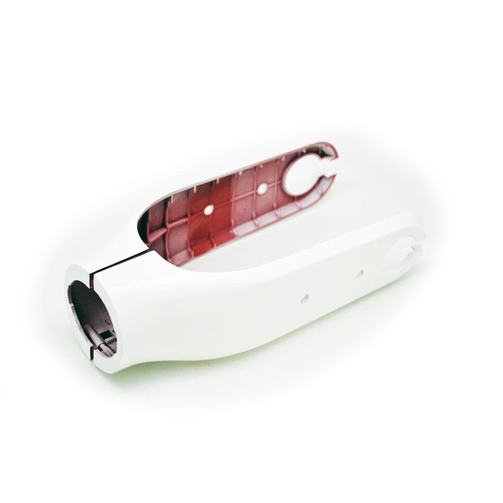 Plastová krytka přední vidlice pro elektrokoloběžku BLUETOUCH BTX250 WHITE - pár