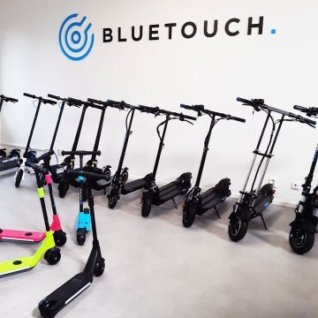 Do you want to test how BLUETOUCH electric scooters ride?