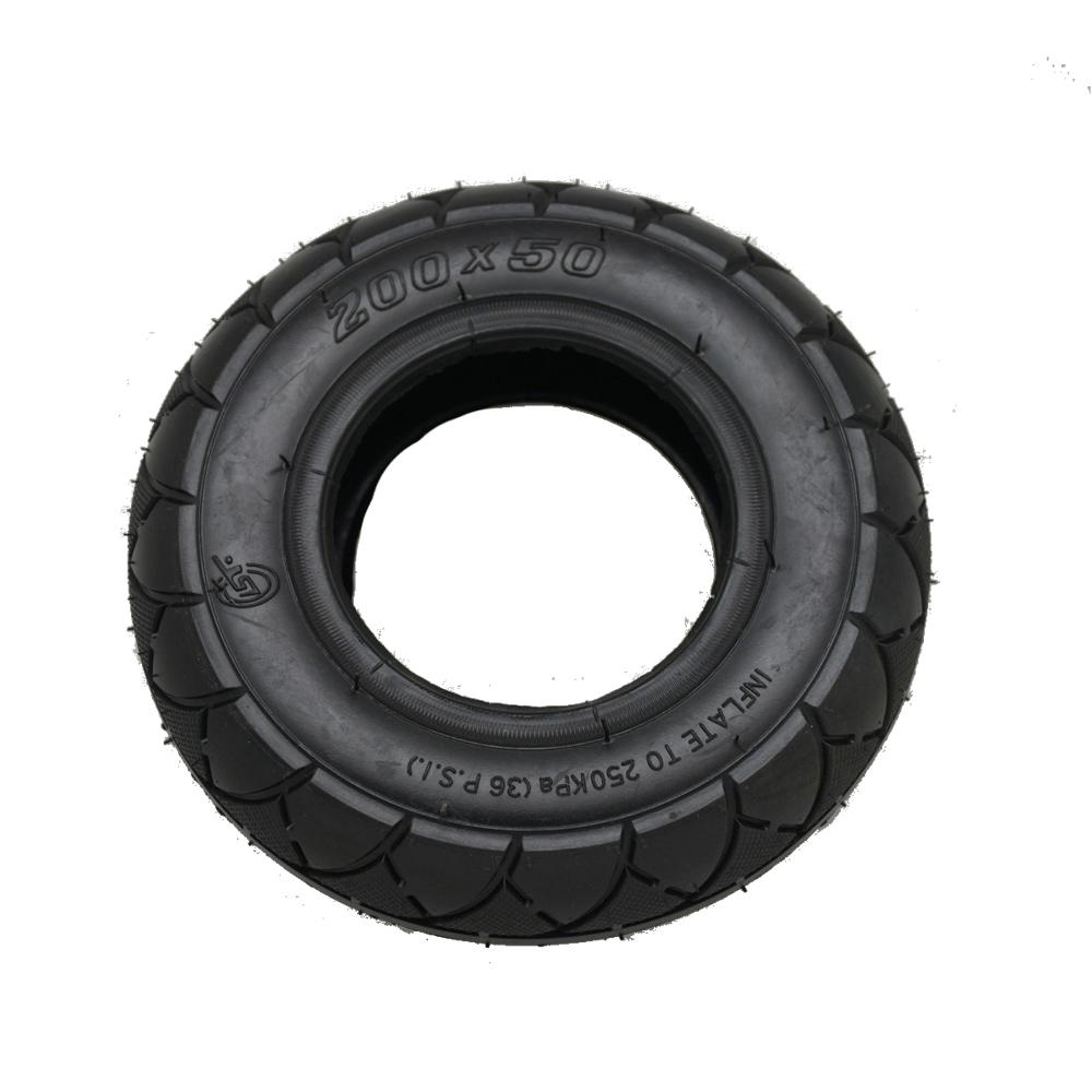 """Plášť přední pneumatiky 8"""" pro elektrokoloběžku BLUETOUCH BT350"""